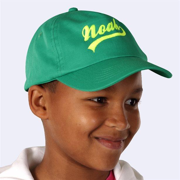 Gorra de béisbol para niños con bordado personalizado