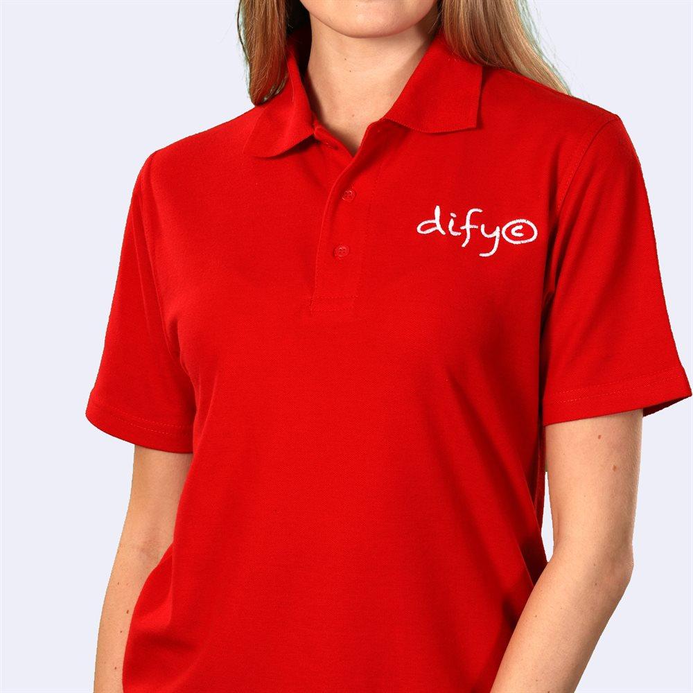 Camisas tipo polo bordadas de calidad