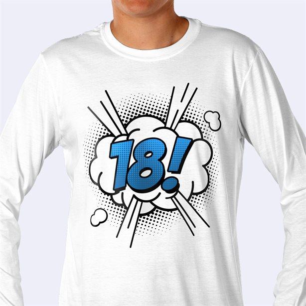 Impresión de camiseta de manga larga económica