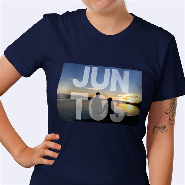 Camiseta ajustada personalizada de American Apparel