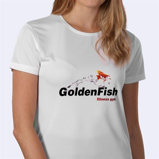 Impresión de camisetas deportivas para mujer personalizadas