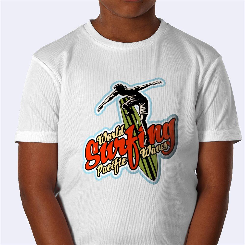 Impresión de camisetas de deporte personalizadas para niños