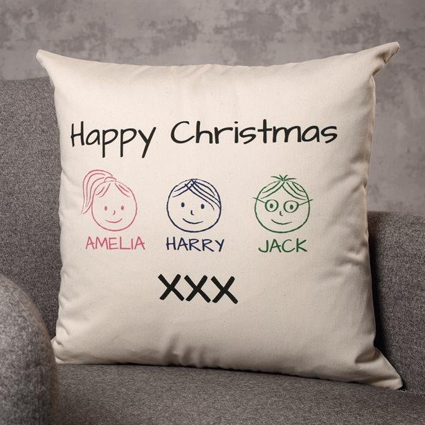 Personalised Square Cushion