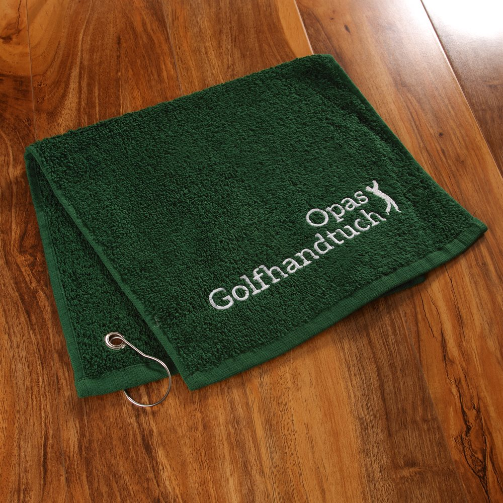Personalisierte Golf-Handtücher