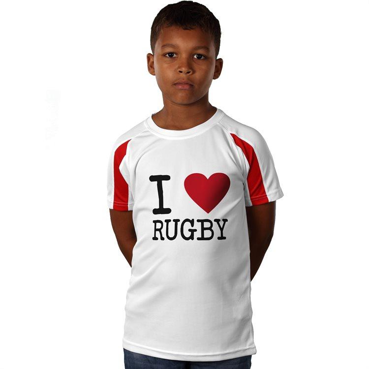 Kids Contrast Sports Shirt