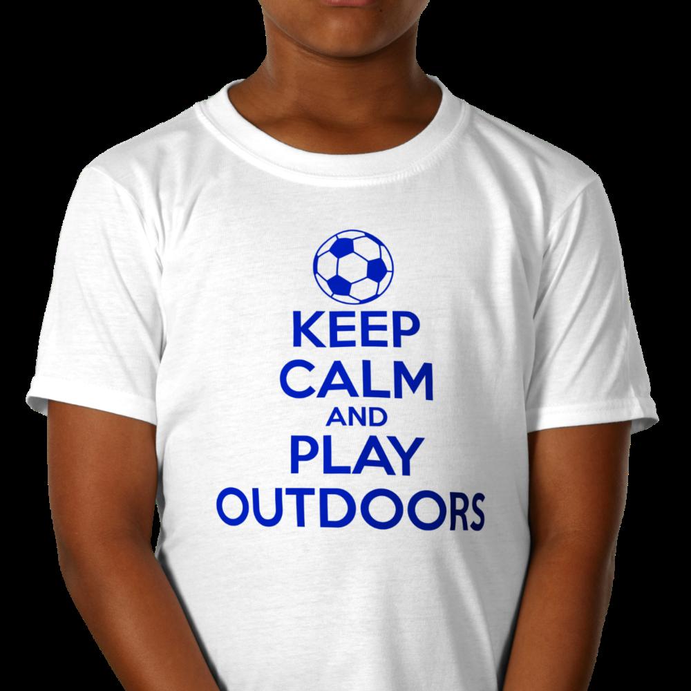 Budget White Kids T-Shirt