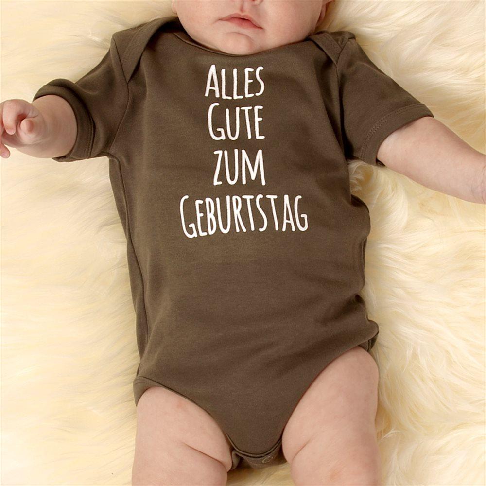 Personalisierte Babystrampler