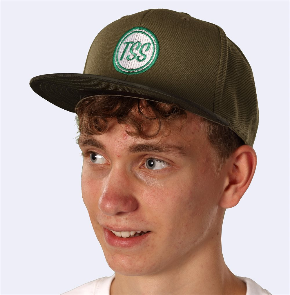 Embroidered Yupoong Camo Snapback