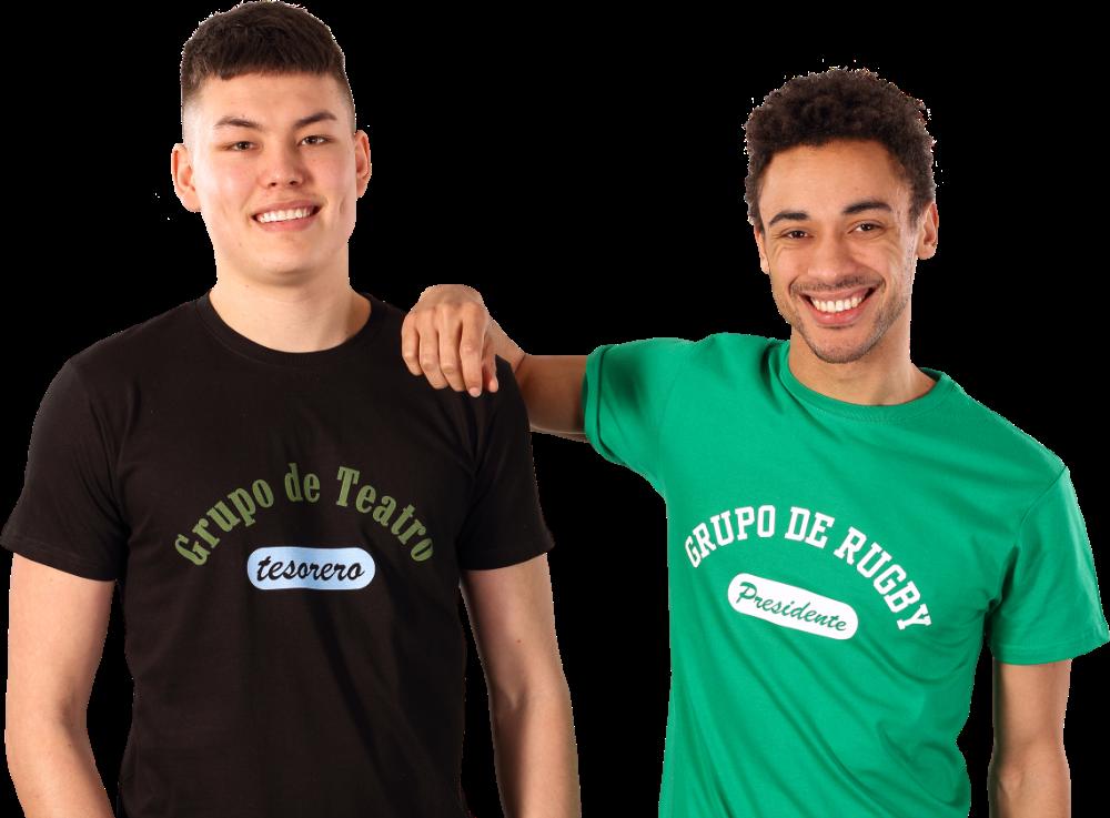 Impresión de camisetas para hombre