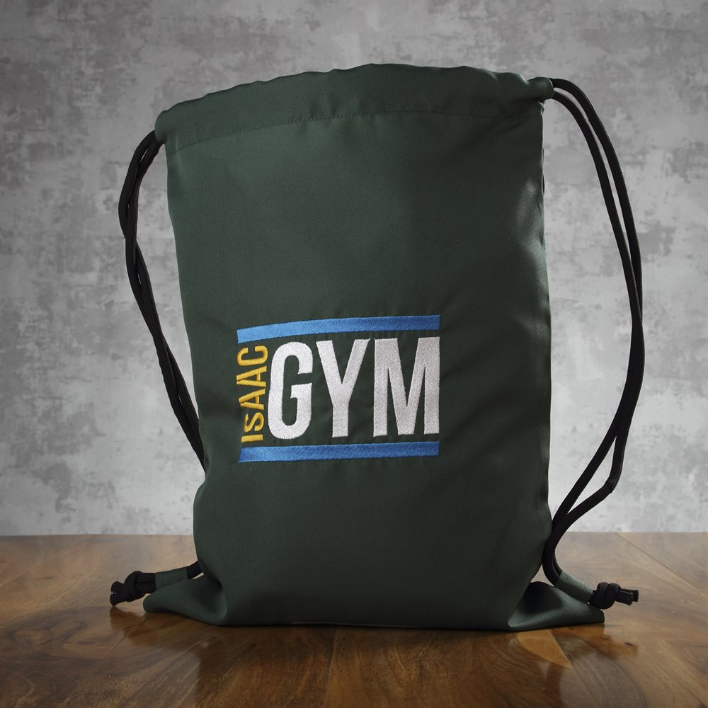 Embroidered Kids Gym Bags
