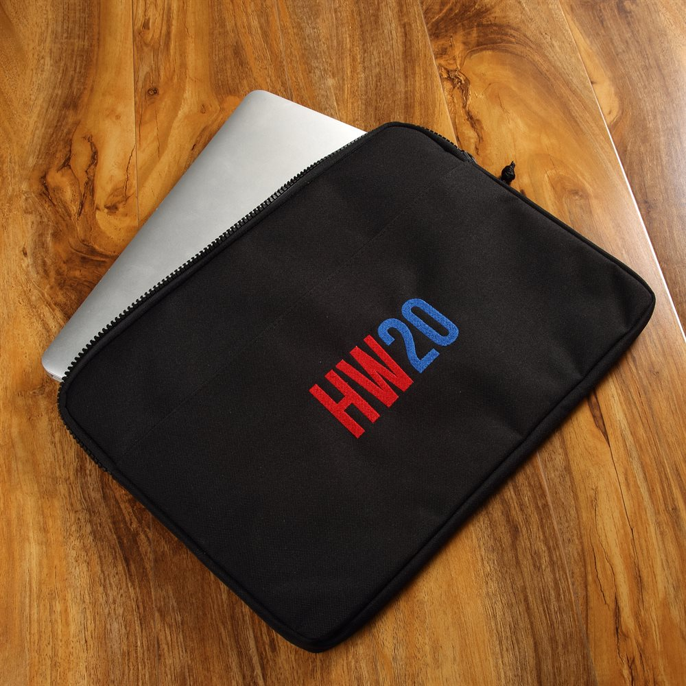 Personalised Embroidered 15 Inch Laptop case