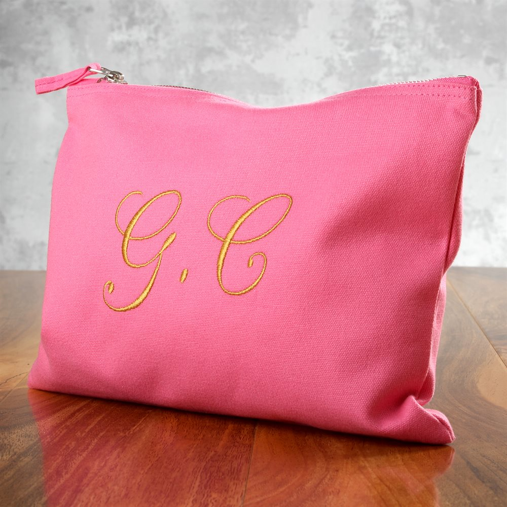 Custom Embroidered Makeup Bags