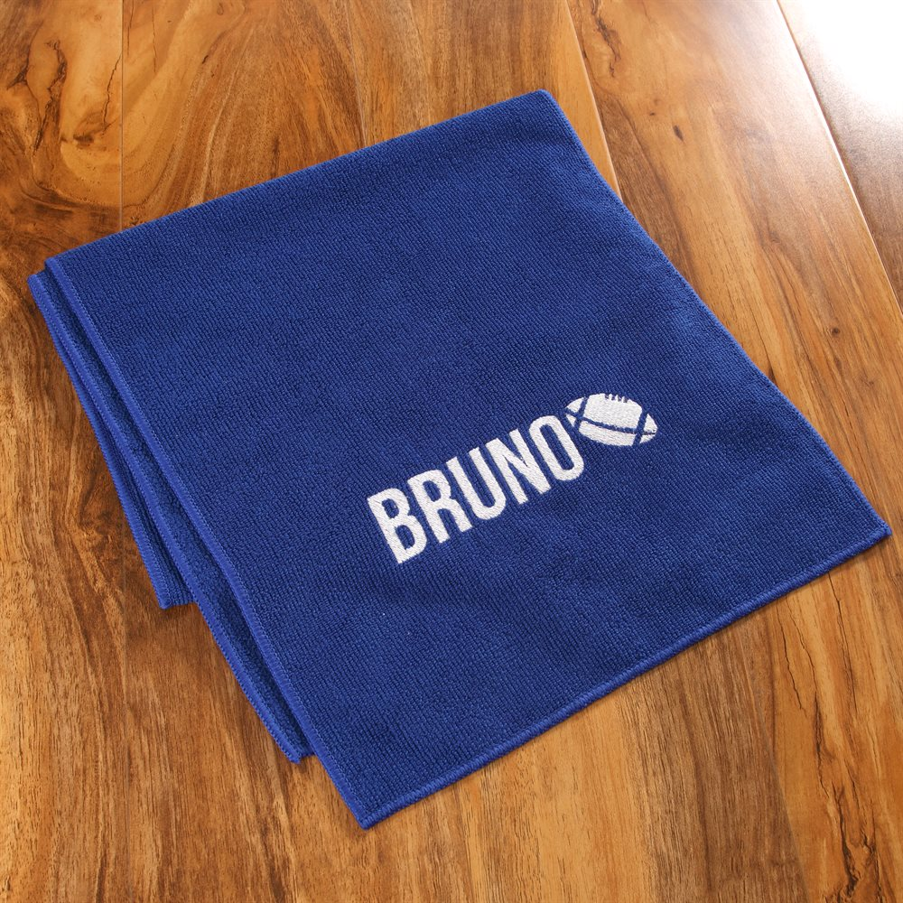 Personalised Microfibre Gym Towels