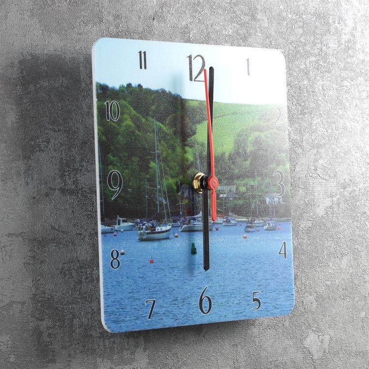 Clock, Square, Modern