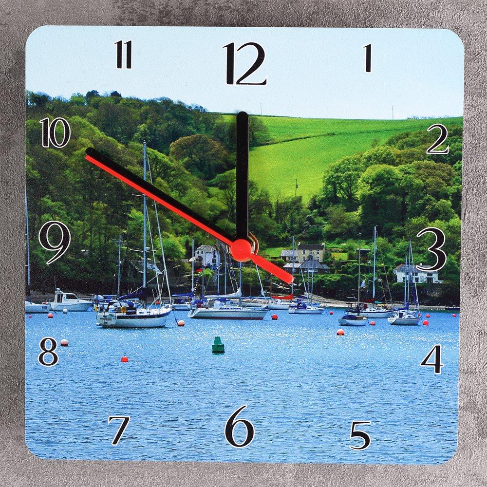 Square Photo Clocks