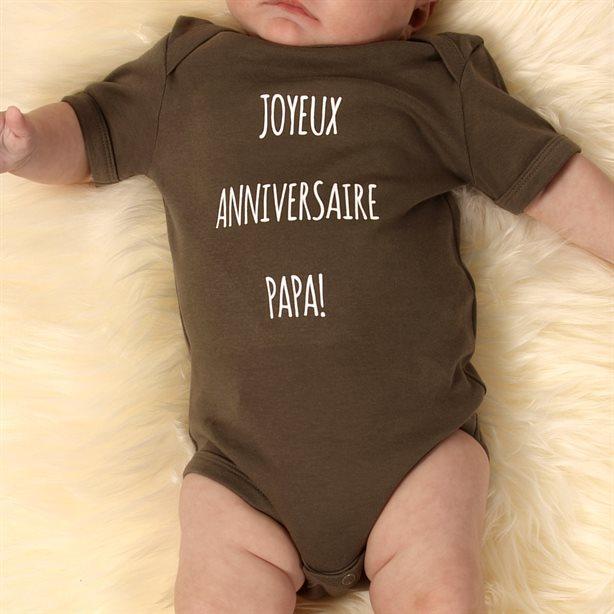 Grenouillères bébé personnalisées