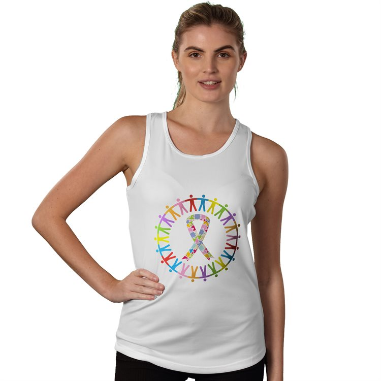 Fitted Sports Tank Top