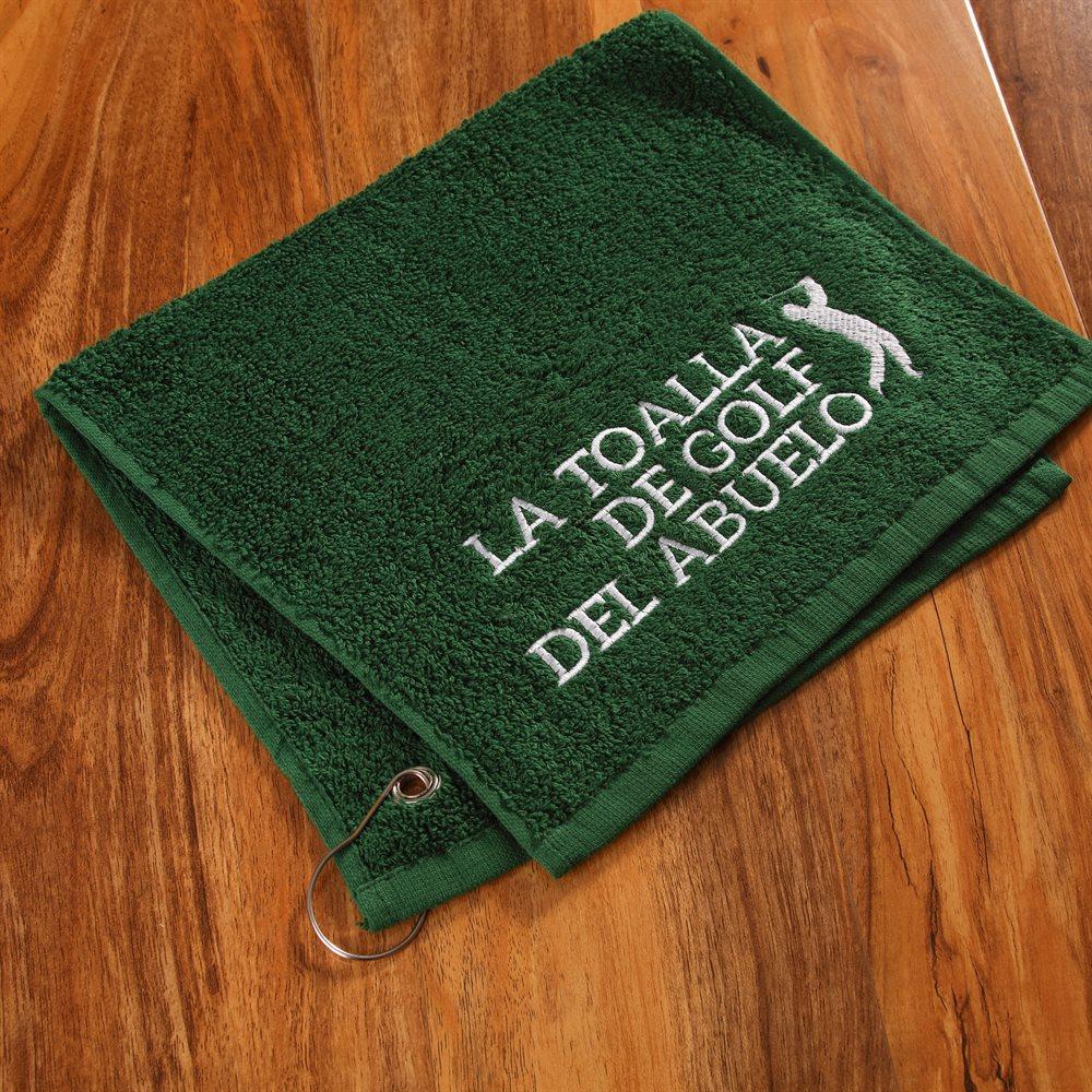 Toallas para golf personalizadas