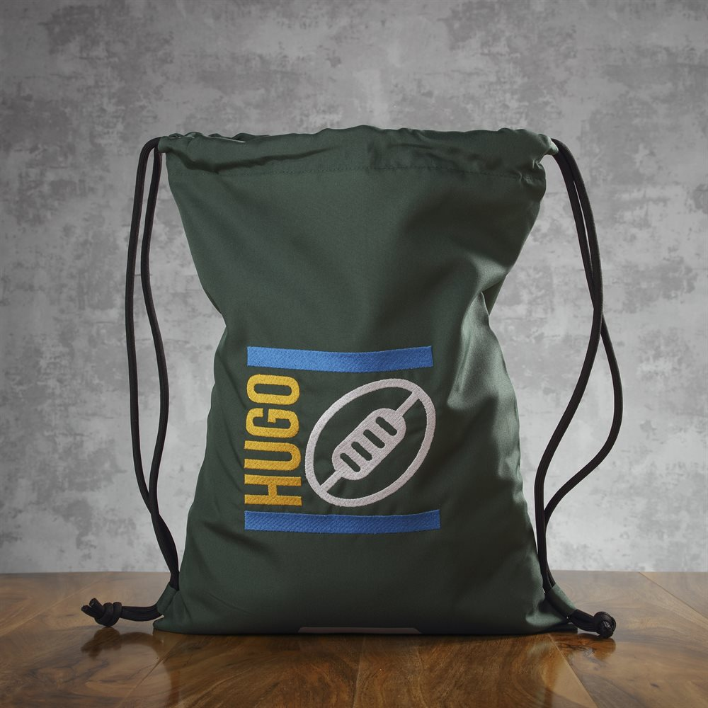 Bolsas de gimnasio para niños bordadas