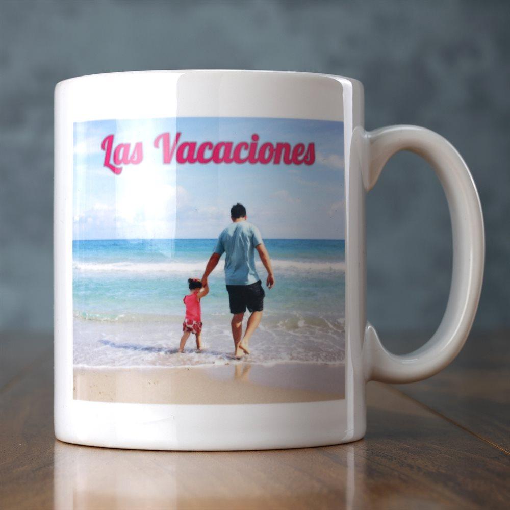 Impresión de taza personalizada
