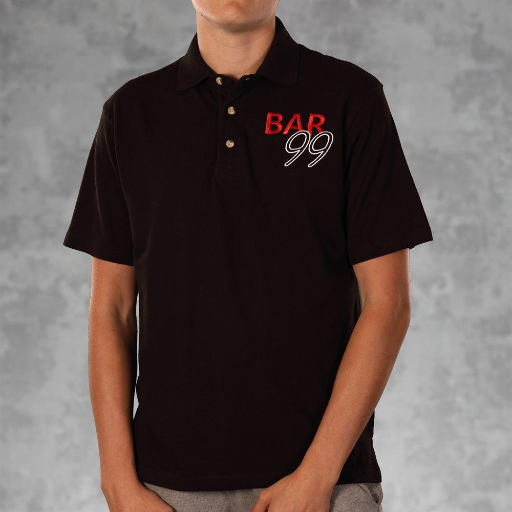 Camisas tipo polo bordadas