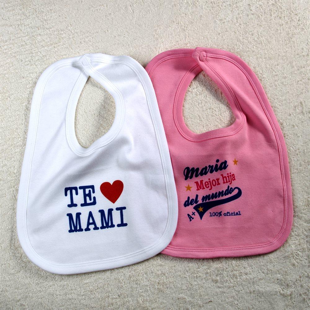 Baberos pare bebé personalizados
