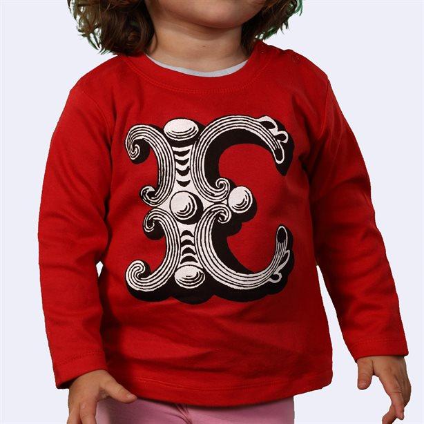 Camisetas para bebé de manga larga