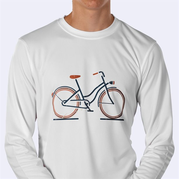 Personalised Long Sleeve  Sports Shirt Printing