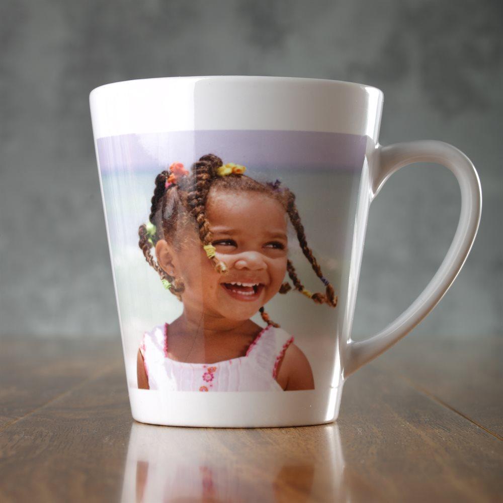 Impresión de tazas de latte personalizadas