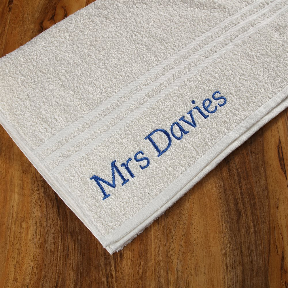 Personalised Bath Sheet