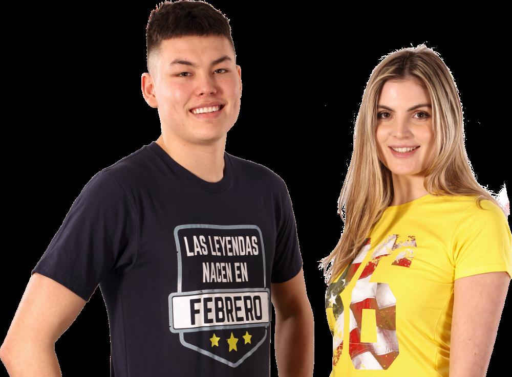 Impresión de camisetas personalizadas