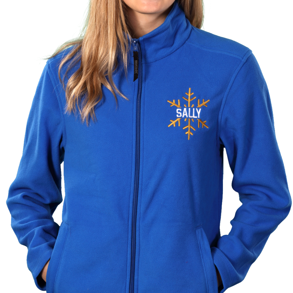 Embroidered Microfleeces