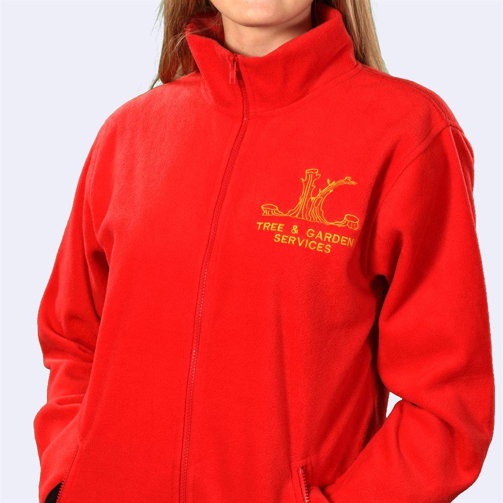 Embroidered Fleece Jackets