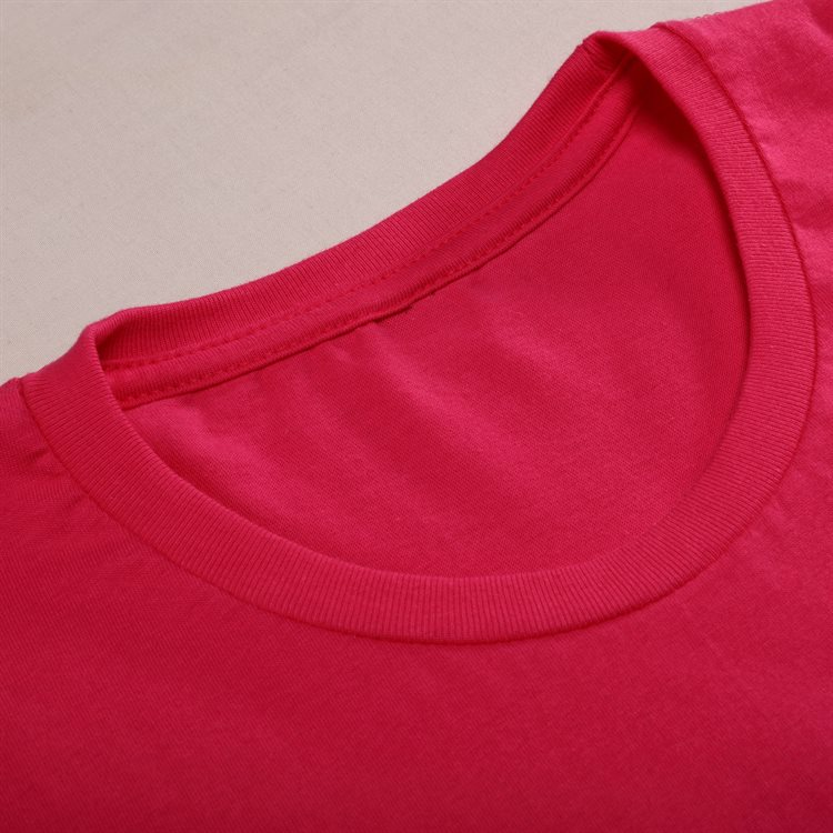 Fitted round neck t-shirt