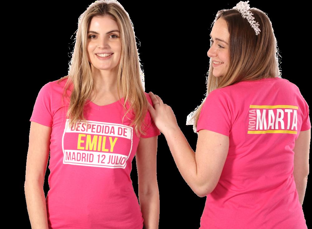 Impresión de ropa de mujer