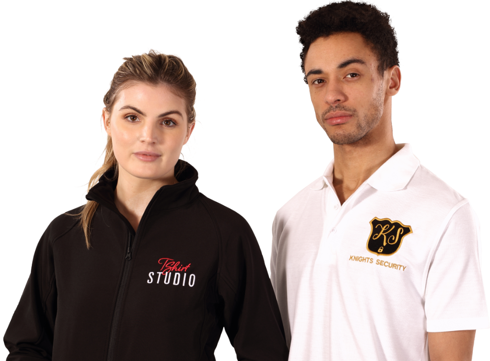 Bedruckte & Bestickte Poloshirts
