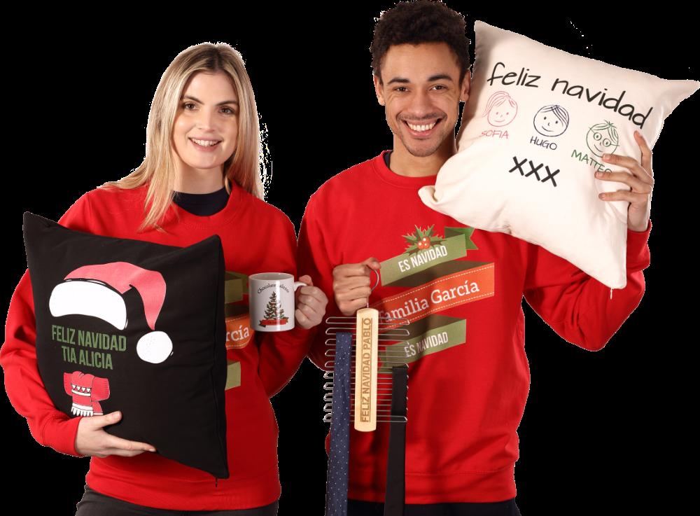 Ropa y regalos de navidad personalizados